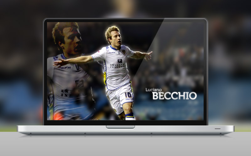 Download Desktop Wallpaper Leeds United Luciano Becchio