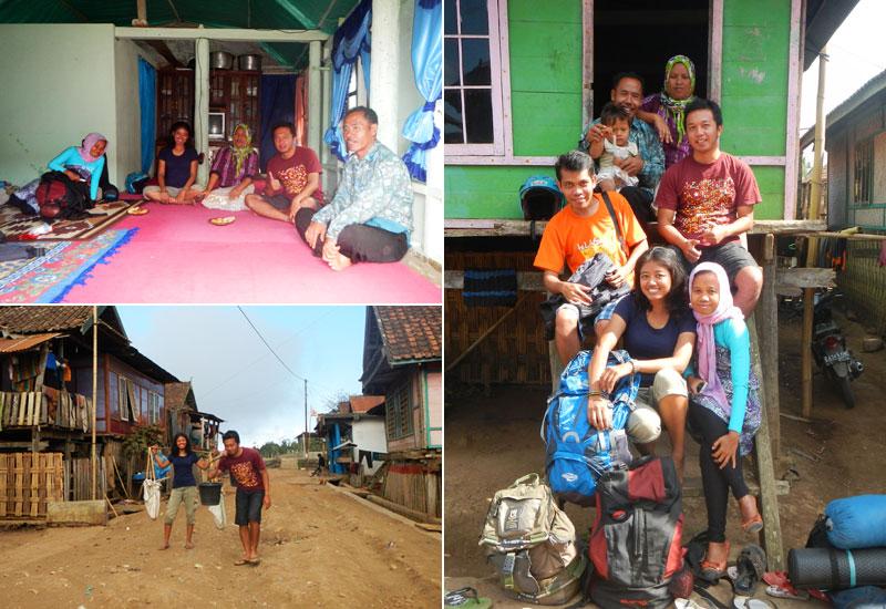 Seperti keluarga sendiri di rumah Kepala Desa Mantar, Sumbawa Barat.