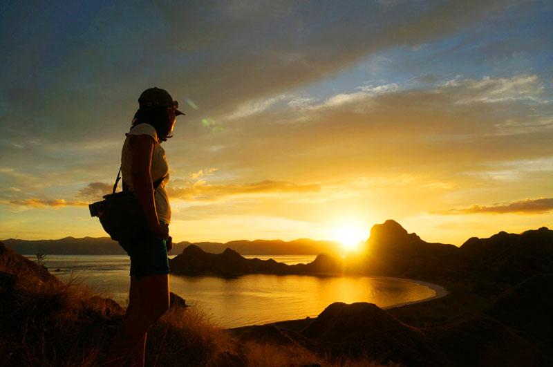 Satu kata untuk sunset Gili Padar: istimewa