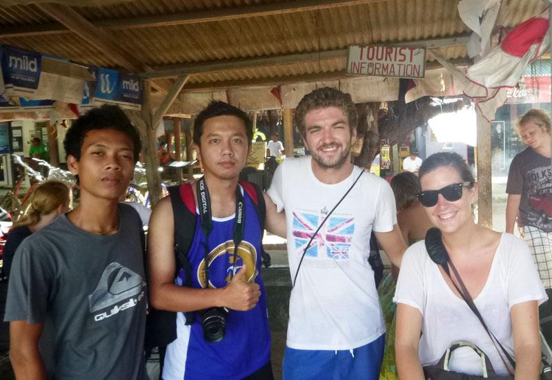 Lombok - Jawa - Perancis, berbeda-beda tapi satu homestay di Gili Trawangan