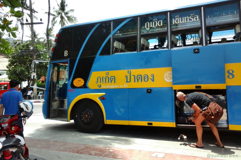 Bus Patong Phuket