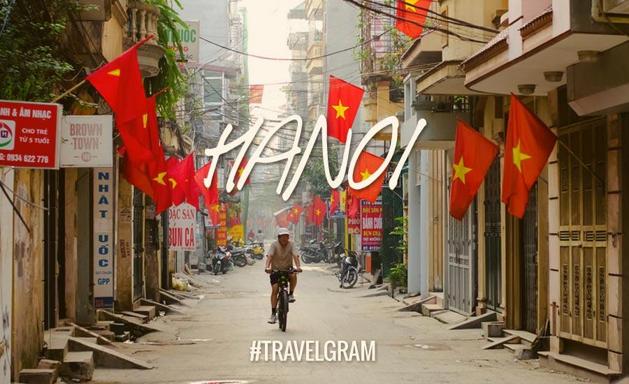 Instagraming Hanoi, Kota Romantis di VietnamUtara