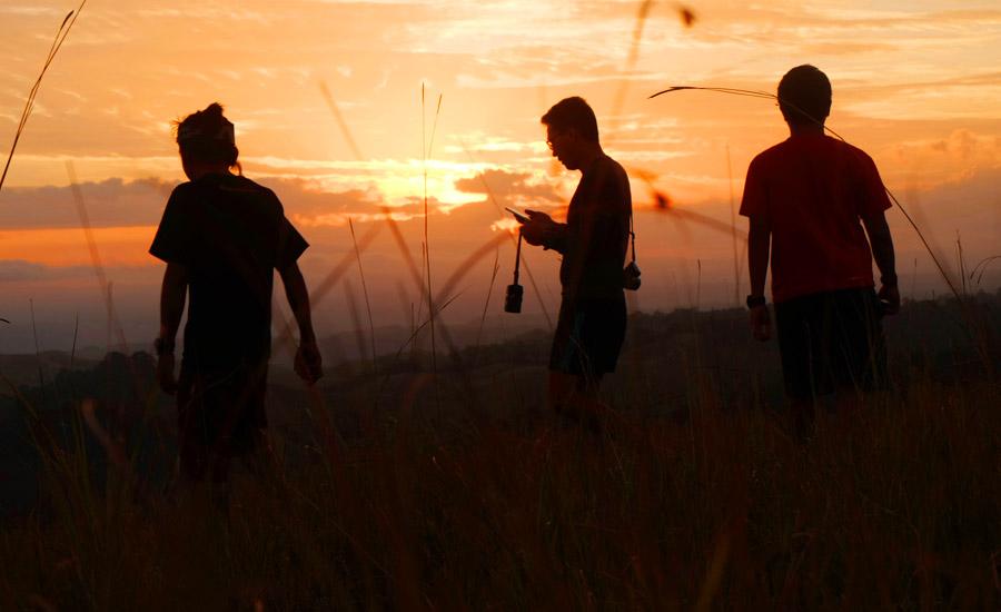 Menyapa Senja di Bukit Lailara, PulauSumba