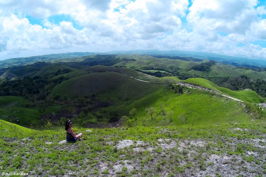 Gorgeous view of Lailara Hills in East Sumba