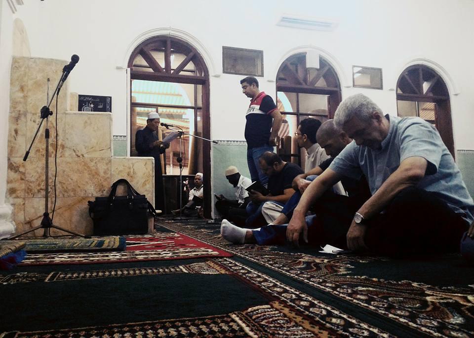 Sholat Jumat di Masjid Al Noor, mayoritas jamaah berasal dari negara Jazirah Arab