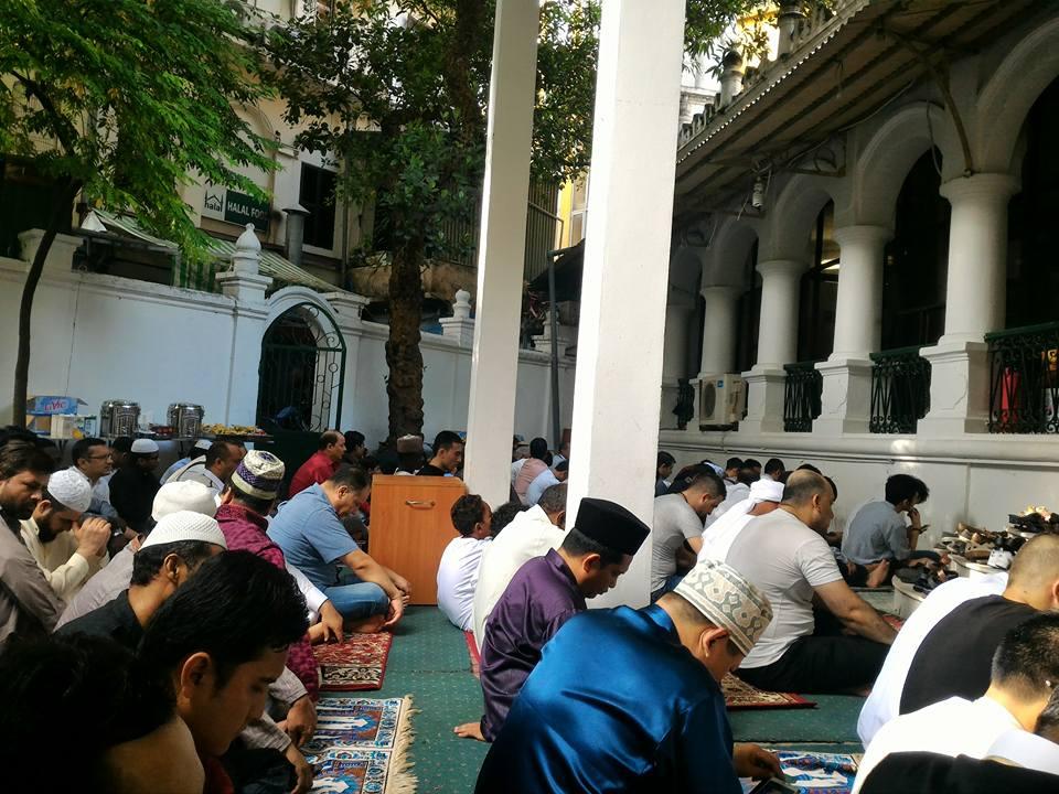 Suasana Sholat Ied tahun 2015 di Masjid Al Noor Hanoi