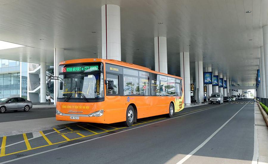 Bis Kota Dari Bandara Noi Bai MenujuHanoi