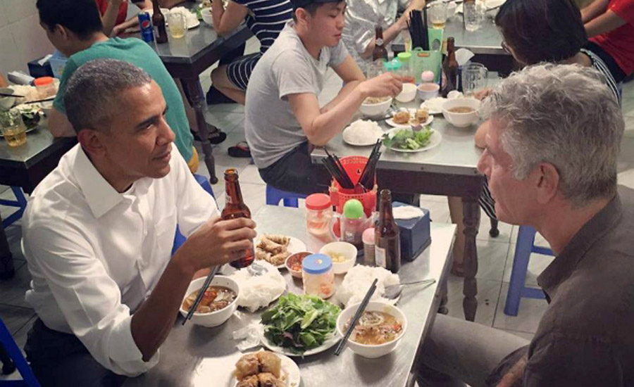 When In Hanoi, Eat Like Local, Eat Like Obama