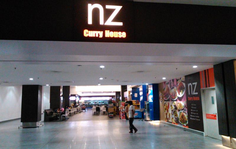 NZ Curry House di KLIA2 Airport, Kuala Lumpur, Malaysia