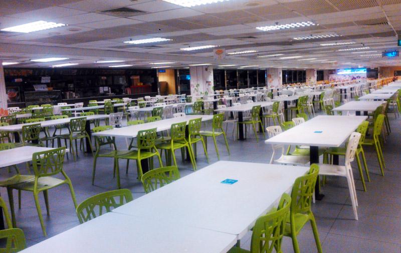 Staff Canteen di T1 Bandara Changi Singapura
