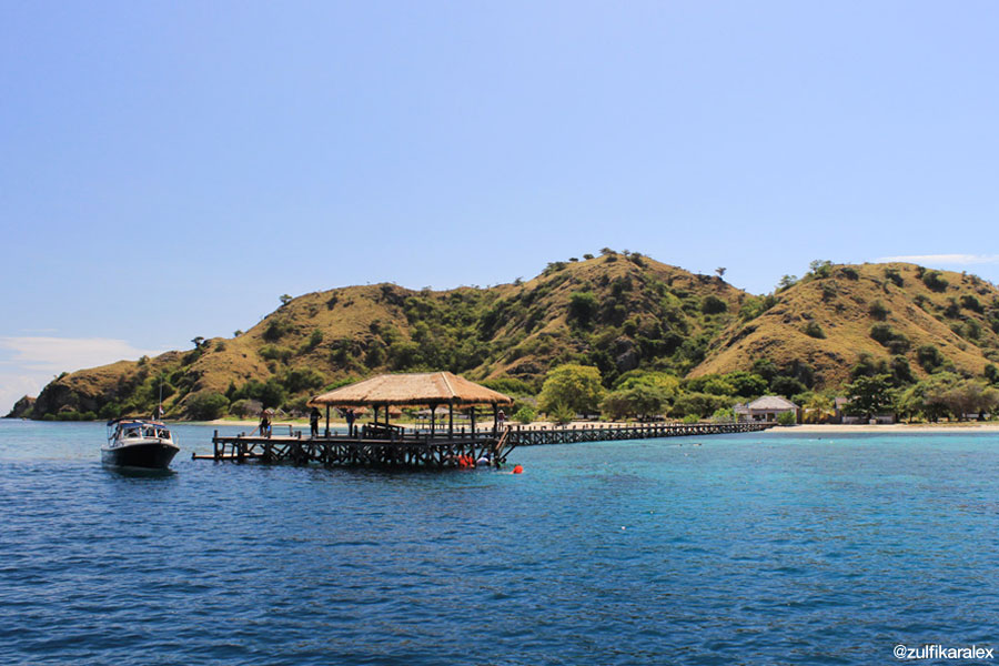 Pulau Kanawa, Flores, Nusa Tenggara Timur